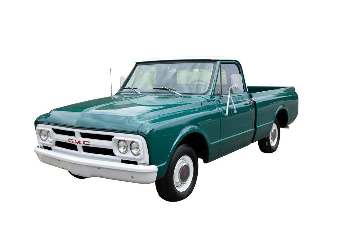 Elvis Presley Circle G Ranch 1967 GMC Pickup Truck