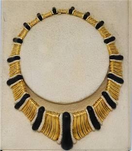Henry Dunay 12ctw VVS1-VVS2/D-F Diamond 18K Necklace