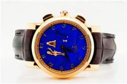 Ulysse Nardin Hourstriker 18K 42mm Watch W/Lapis Dial