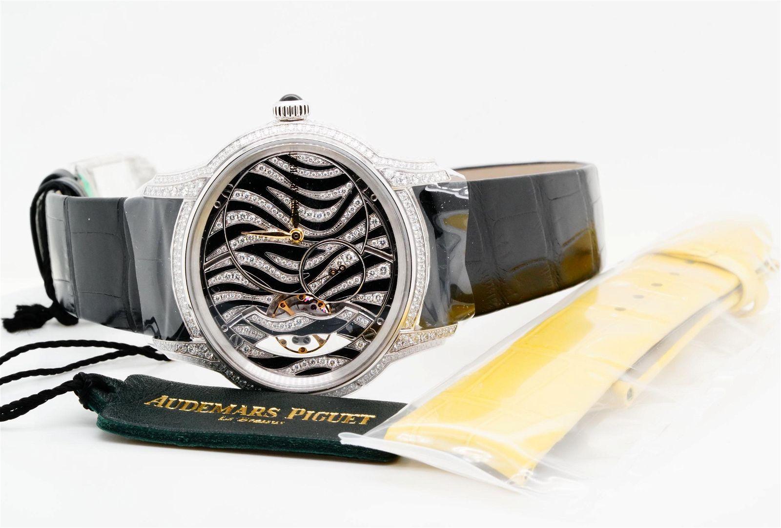 Audemars Piguet Millenary 2.35ctw Diamond 18K Watch