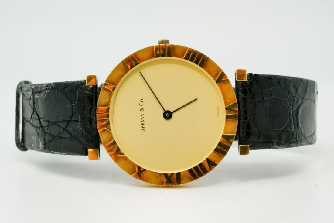 Tiffany & Co. France Atlas 14K Yellow Gold Watch