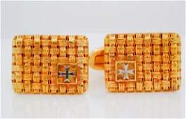 Vacheron Constantin 18  Platinum Cufflinks