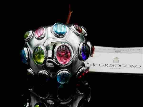 de Grisogono 14.75ctw Multi-Gemstone Melagrama Ring