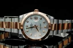 Rolex Oyster Perpetual Datejust 18KSS 41mm Watch