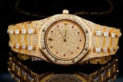 Audemars Piguet Royal Oak 1750ctw Diamond 18K Watch