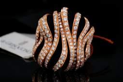 de Grisogono 3.22ctw Diamond 18K Ring W/Inset Onyx