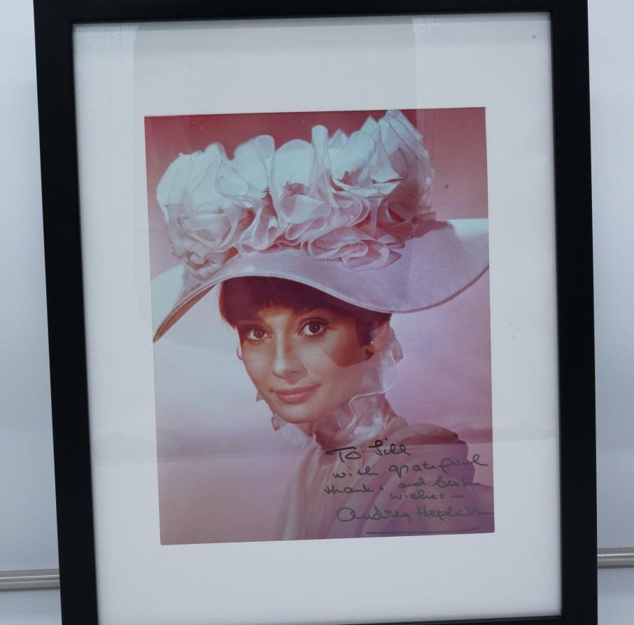 "Audrey Hepburn ""My Fair Lady"" Signed Photo W/COA"