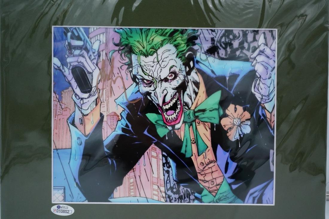 Joaquin Phoenix Signed Joker Photo W/COA