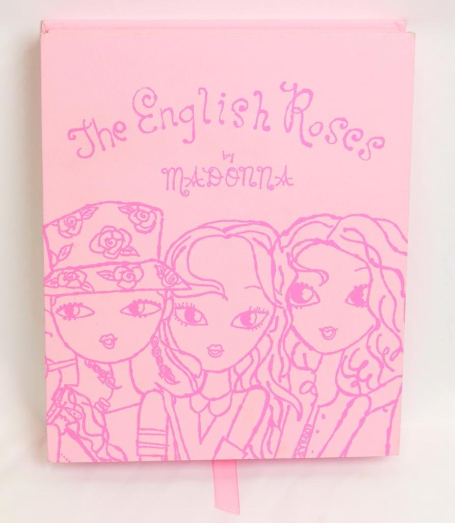 "Madonna ""The English Roses"" Book Set W/Signed Letter"