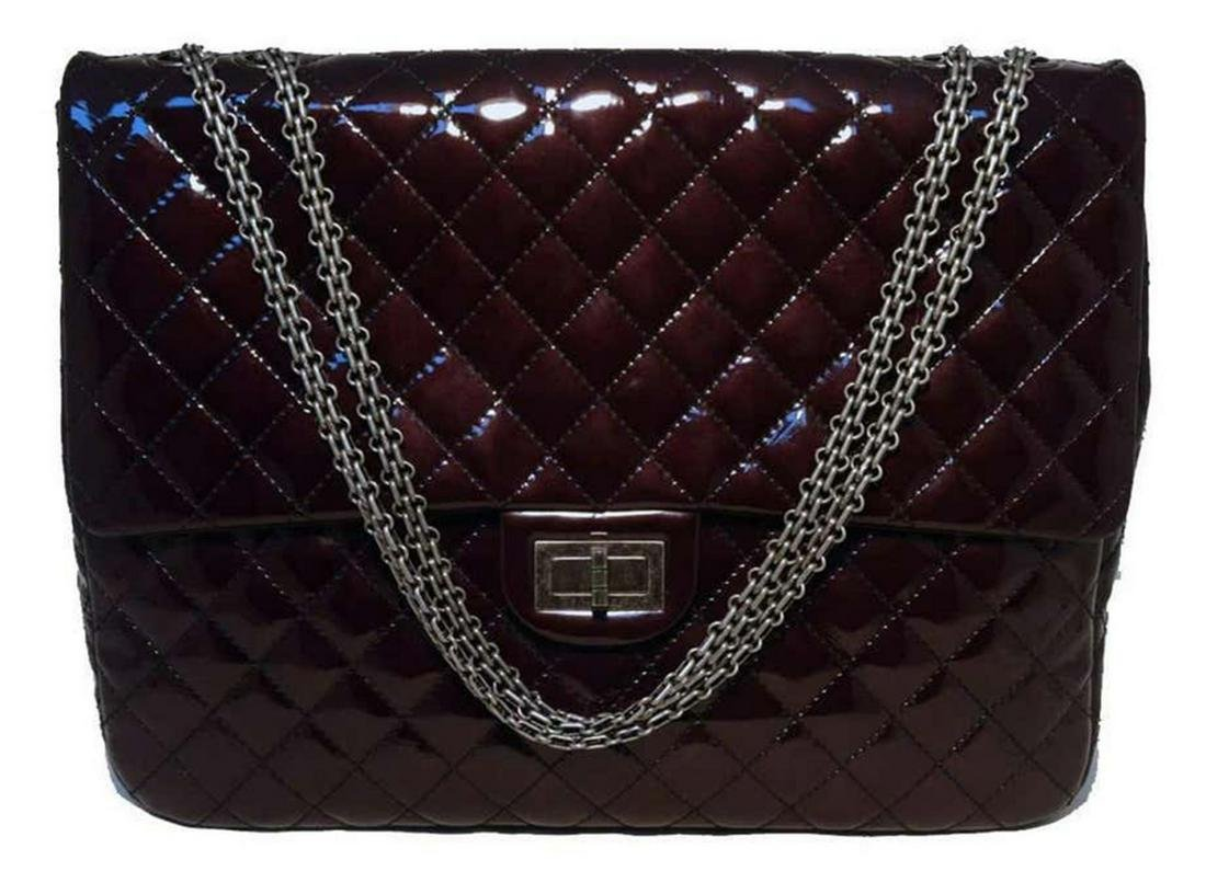 Chanel Patent Leather Reissue 2.55 Classic Flap Bag