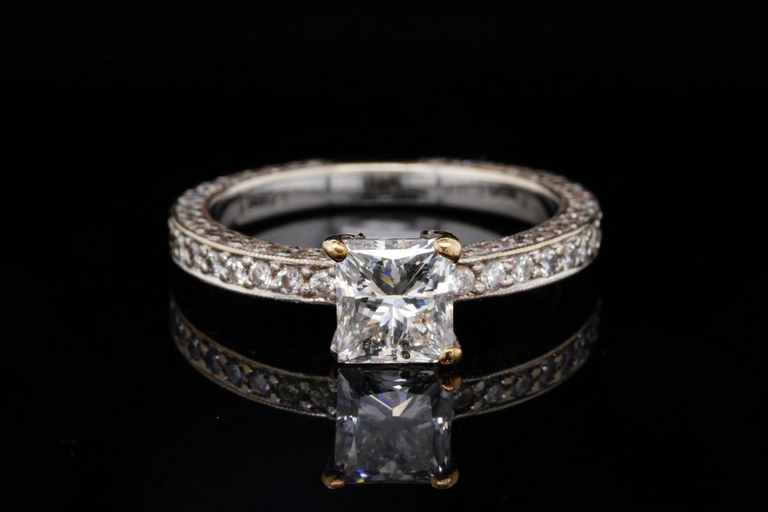 2.25ctw SI1-SI2/G-H Diamond 14K White Gold Ring