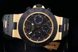 Bvlgari Scuba Diagono 38mm 18K & Titanium Watch