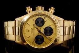 Rolex 1979 Daytona 18K 37mm Watch (Ref. 6263)