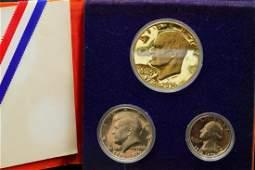 U.S. Mint Bicentennial Silver Proof Set