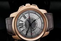 Cartier Calibre de Cartier Chronograph 45mm 18K Watch