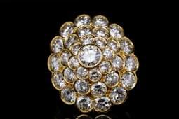 Van Cleef & Arpels, NY 6.50ctw Diamond 18K Ring