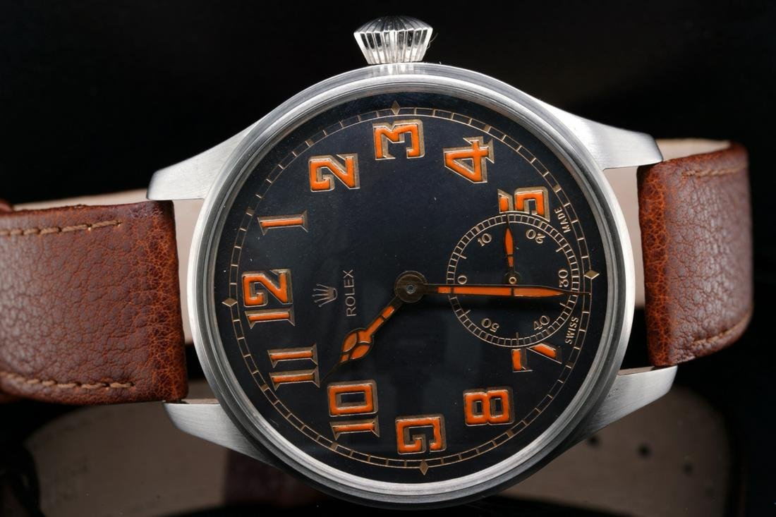 Rolex Pocketwatch Movement in Custom 48mm Watch