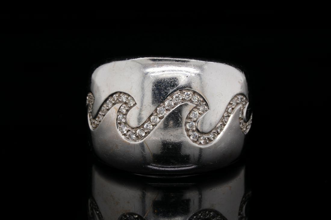 Van Cleef & Arpels 0.40ctw Diamond 18K Ring