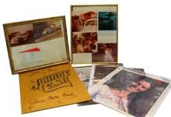 Johnny & June Carter Cash Autographed Photo Book