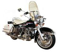 Elvis Presley's 1975 Harley Davidson FLH Motorcycle
