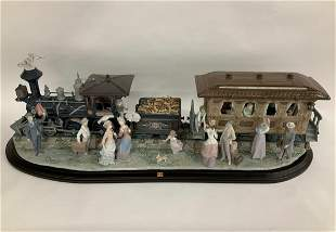 "Lladro Ltd. Ed. ""A Grand Adventure Train"" (1 of 500)"