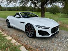 2021 Jaguar F-Type R AWD Convertible Supercharged V-8