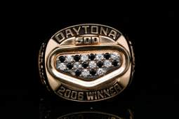 Daytona 500 2006 Diamond Winner's Ring Jimmie Johnson
