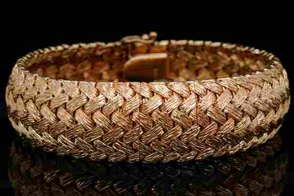 Longines 14K Yellow Gold Vintage Bracelet Watch