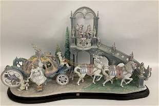 "Lladro Limited Edition ""Cinderella's Arrival"" W/Box"