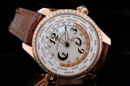 Girard-Perregaux World Time 41mm Diamond & 18K Watch