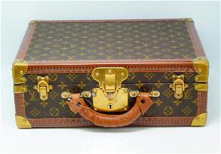Louis Vuitton Vintage Monogram Jewelry Train Case