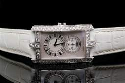 Harry Winston Avenue C 3.98ctw Diamond 18K Watch