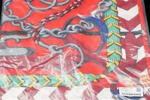 Hermes Panoplie Equestre Shawl 140 Unworn