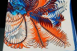 Hermes Mythiques Phoenix Shawl 140 (70% Cashmere)