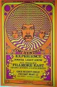 Jimi Hendrix Limited Edition Giclee Poster #38/100