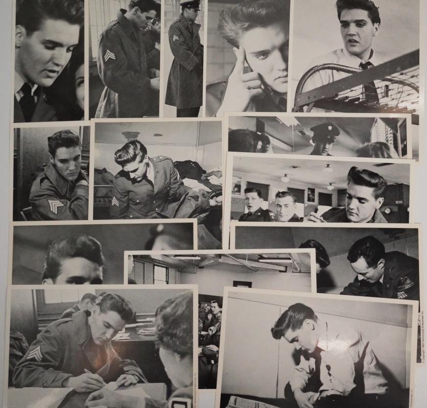 Elvis Presley (14) Limited Collector's Edition Photos