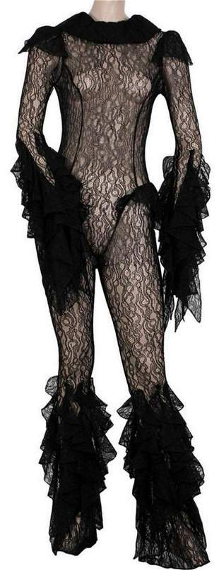 Lady Gaga's Lace Bodysuit Worn at Haus Labs Launch