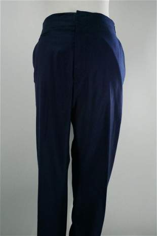 Louis Vuitton Men's Wool Trousers, Blue