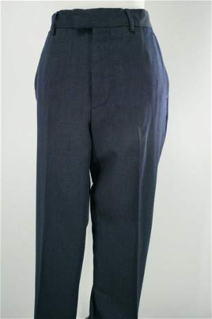 Louis Vuitton Men's Suit Trousers In Navy Wool
