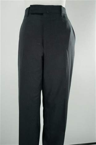 Ermenegildo Zegna Men's Wool-Silk Blend Trousers