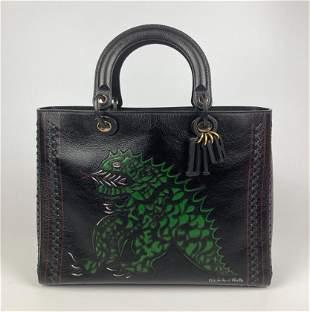 Dior Niki de Saint Phalle Large Lady Dior Bag