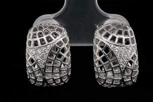 Cartier 0.30ctw VS1-VS2/F-G Diamond and 18K Earrings