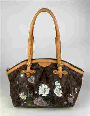 Louis Vuitton Custom Monogram Canvas Tivoli GM Bag