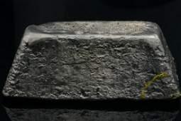 38.23 Ounce Silver Truncated Pyramid Bar
