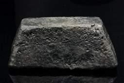 42.23 Ounce Silver Truncated Pyramid Bar
