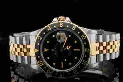 Rolex GMT Master 40mm 18K & Stainless Steel Watch