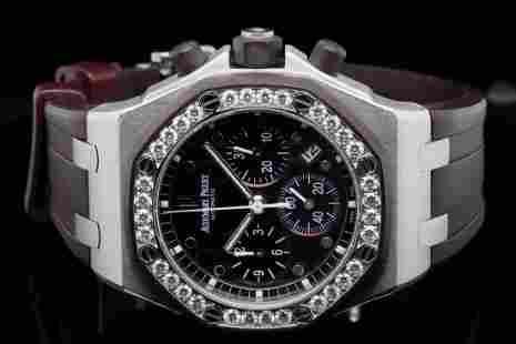 Audemars Piguet Royal Oak Offshore 37mm Diamond Watch
