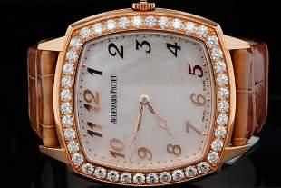 Audemars Piguet Tradition 4.00ctw Diamond 18K Watch