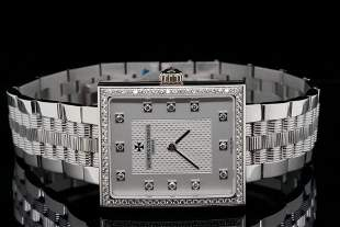 Vacheron Constantin 31mm Diamond and 18K Watch