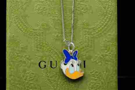 Gucci x Disney Daisy Duck Necklace (Sold Out)